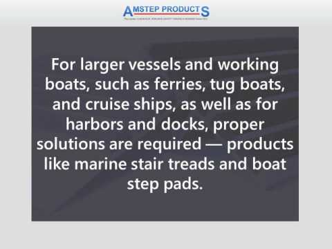 Marine Stair Treads, Step Pads & Deck Coating