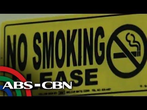Bandila: Nationwide smoking ban, ipatutupad simula sa Linggo