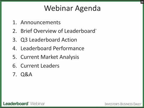 IBD Leaderboard Webinar - 10/08/14