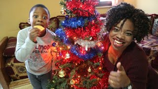Decorating our Christmas tree / Traditional family Christmas tree