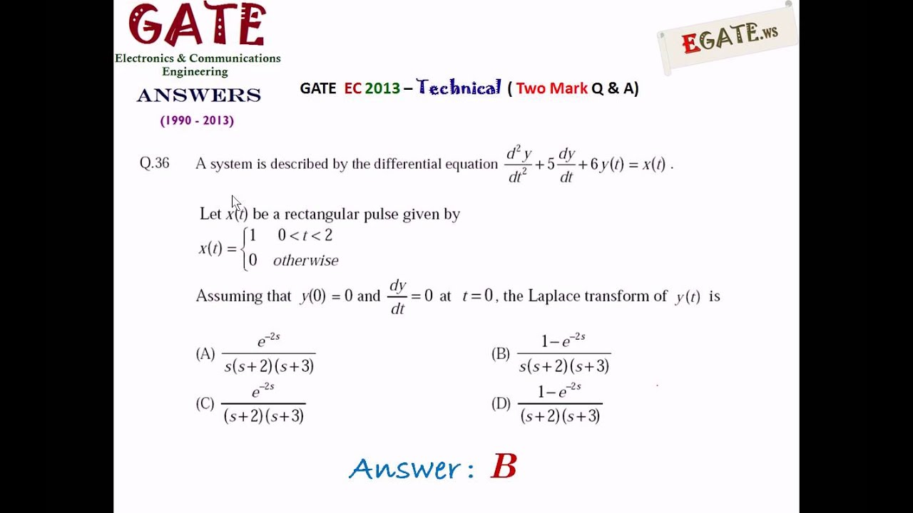 Pgecet Previous Question Papers For Ece With Solutions Pdf