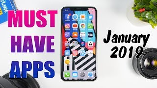 MUST HAVE iPhone Apps (January 2019)