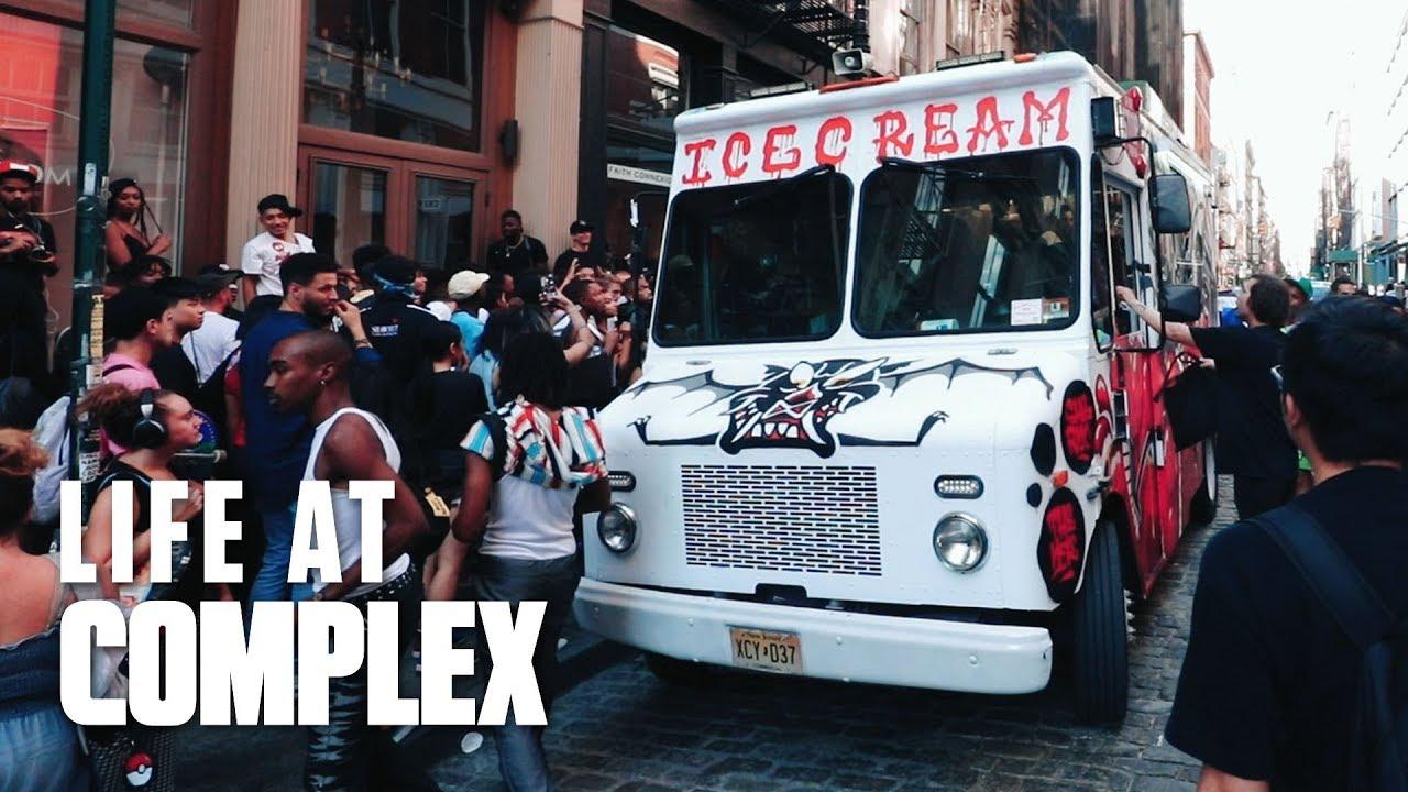 Madness In Soho, Billionarie Boys Club Truck! | #LIFEATCOMPLEX