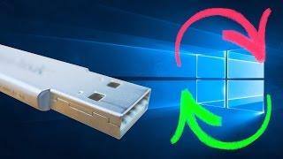 Windows 10 neu installieren 👍 Neuinstallation mit USB Stick, ohne DVD