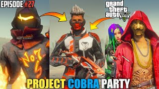 GTA X FREEFIRE : PROJECT COBRA FT.@GAURAV MARWAHA- VOICE ARTIST OF SHINCHAN'S DAD 🔥