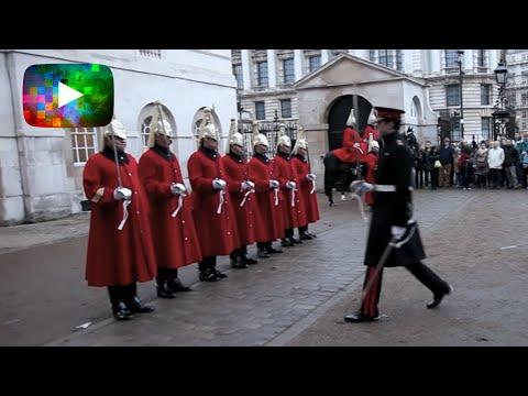 Inspection of the Royal Guard - Inspection de la Garde Royale - London