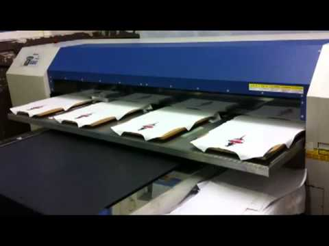 Mimaki Gp 1810d T Shirt Printer Youtube