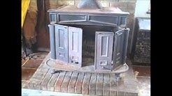 How we service our Franklin Hearth Craft Wood burning Stove