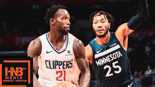 LA Clippers vs Minnesota Timberwolves Full Game Highlights | 03.10.2018, NBA Preseason