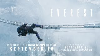 Everest – Official IMAX Trailer (HD)
