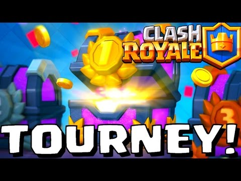 Clash Royale Tournaments - DAILY 4PM US Central!