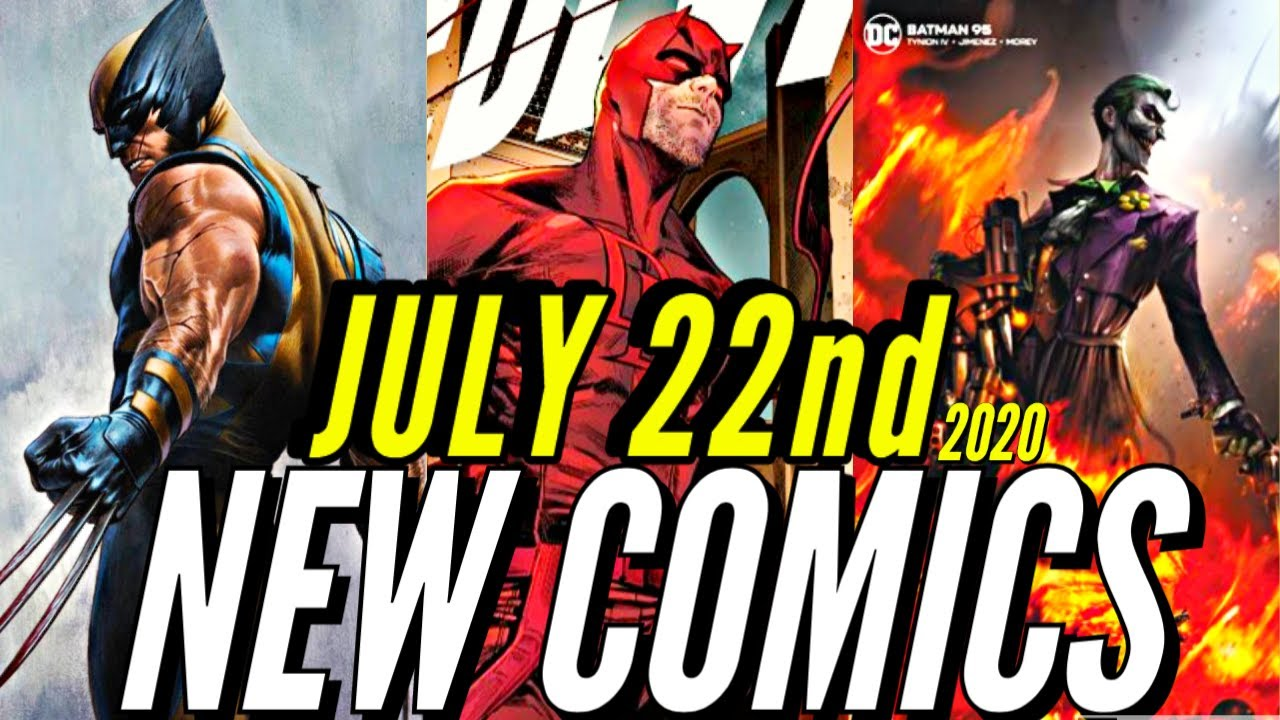 NEW COMIC BOOKS RELEASING JULY 22nd 2020 MARVEL COMICS & DC COMICS PREVIEWS COMING OUT THIS WEEK