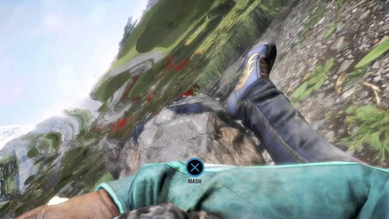 Far cry 4 crocodile - YouTube