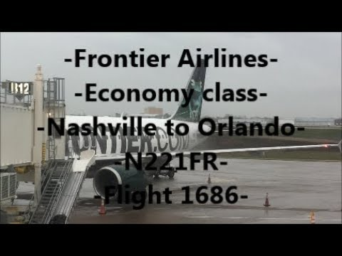 **TRIP REPORT** Frontier Airlines | BNA-MCO | A320 | N221FR