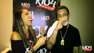 Kirko Bangz with Lady Jade