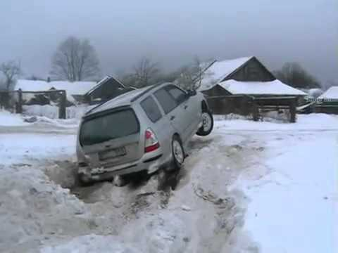 Subaru Forester  super diagonal test 1