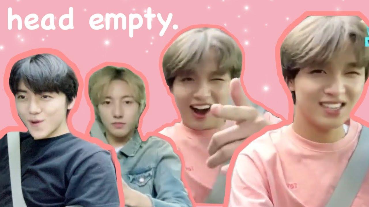 haechan, renjun, and jaemin being confusing for 7 minutes