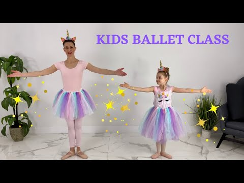Ballet For Kids | Unicorn Sparkle Princess Ballet | Kids Ballet Ages 3- 7