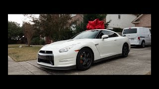 He bought his dad A GTR and I filmed it | @Kevs.Trill @Kmfcknchu