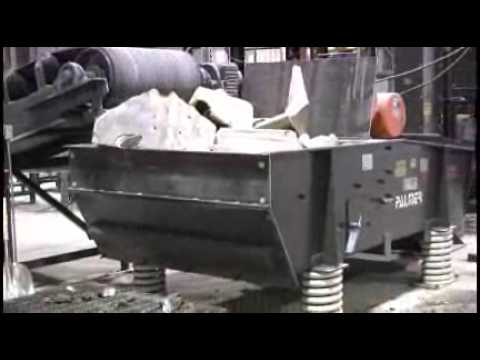 Foundry Sand Reclamation - Shakeout Deck and Attrition Mill Based Systems from Palmer Manufacturing