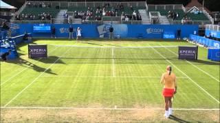 Sabine Lisicki vs. Urszula Radwanska at the Aegon Classic 2012