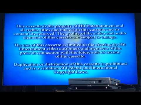 to Kipper Imagine That 2001 VHS Screening Copy
