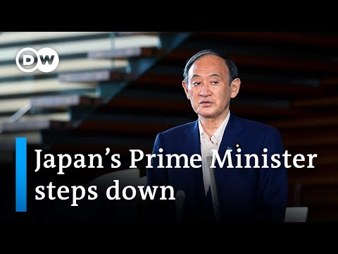 As Prime Minister Yoshihide Suga steps down, the Nikkei rises   DW Business