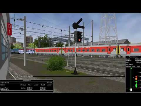 MSTS Open Rails NDLSN New Delhi to CNB Kanpur Route Part 1