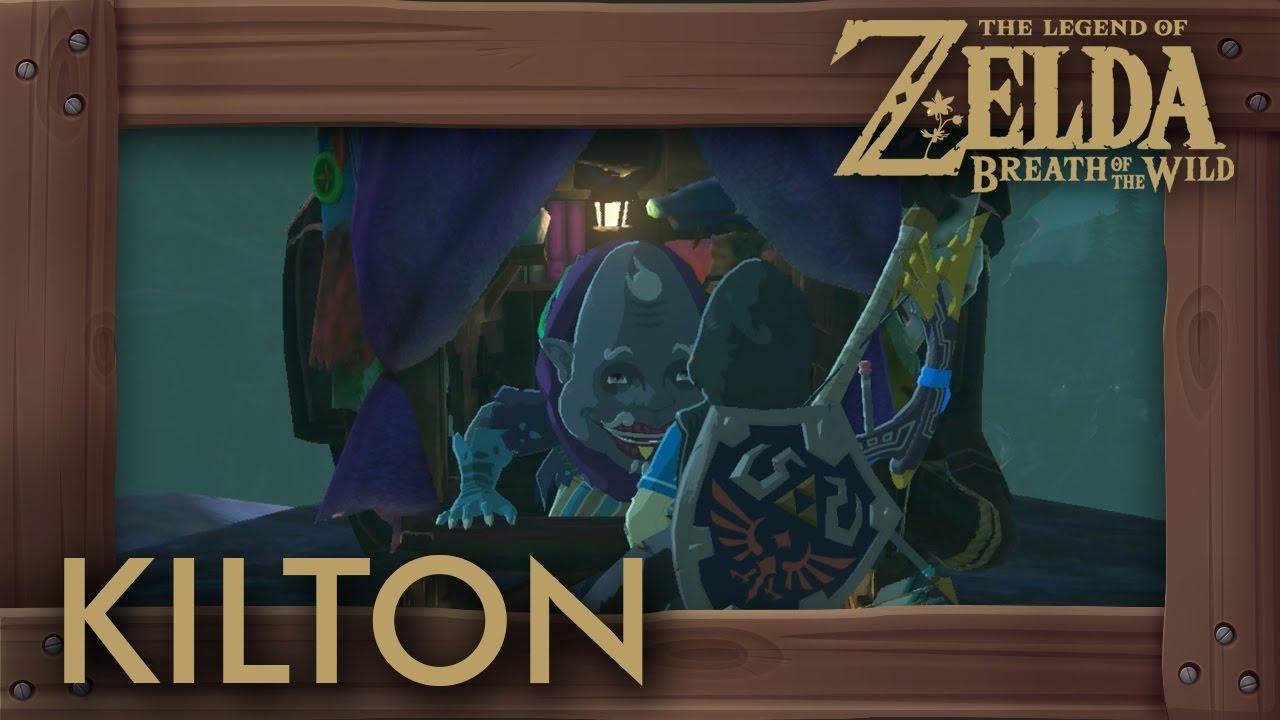 38d64d1e7 Zelda Breath of the Wild - Kilton Location (How to Get Dark Link Tunic)