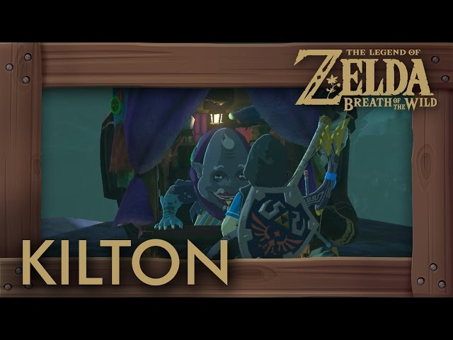 Breath Of The Wild Dark Link Where To Find Dark Armor From Kilton Vendor Player One