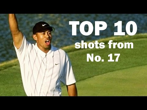 Top 10 all-time shots from the 17th hole at TPC Sawgrass