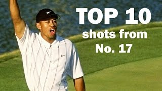 Download Top 10 all-time shots from the 17th hole at TPC Sawgrass Mp3 and Videos