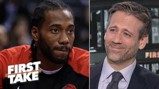 Max walks back Kawhi 2020 title prediction after seeing the 76ers' free agency moves | First Take