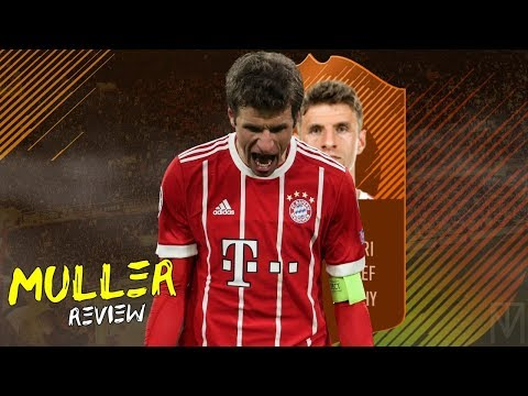 FIFA 18 - MOTM MULLER (90) PLAYER REVIEW