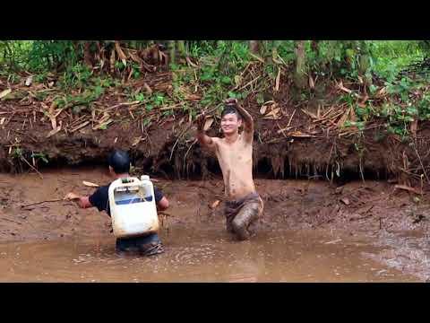 Chích cá bằng điện - Fishing with Electricity Shock in Vietnam