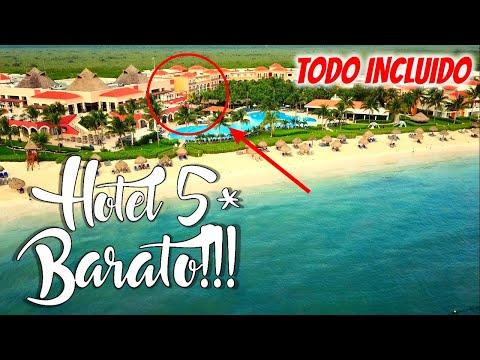 🔴 IMPRESIONANTE Hotel en PUERTO MORELOS  (CANCUN) 😱 | Descubrimos un TODO INCLUIDO, 5* MUY BARATO