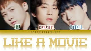 B1A4 (비원에이포 ) - LIKE A MOVIE (영화처럼) LYRICS [Color Coded Lyri…