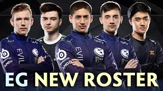 New EG roster — RAMZES offlane + ABED mid