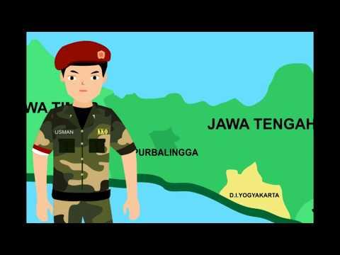 """Video Biografi Usman Janatin Menggunakan Motion Graphics"" Pahlawan dari PURBALINGGA"