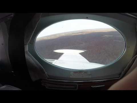 Take off in a Cessna 340
