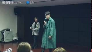 [180127] DOB's Fanmeeting 🎁 The Night I Miss You 🎤 JinYeong  sing together