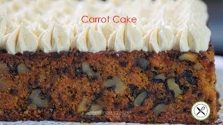 Carrot Cake – Bruno Albouze – The Real Deal