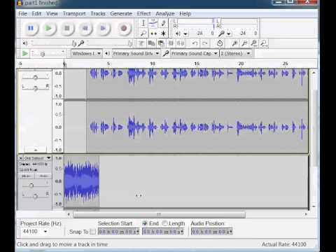 Add Musical Intro in Audacity