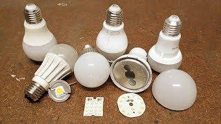 Porque se queman las lamparas led ??