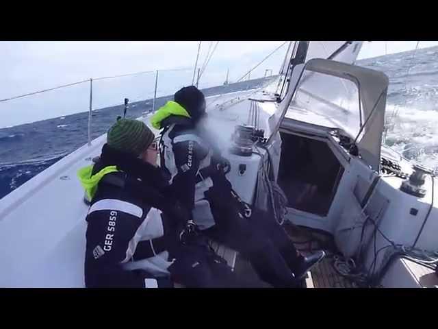 Yacht Sailing across the Globe
