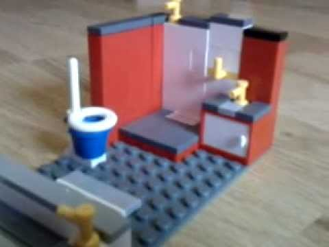 construire une salle de bain lego youtube. Black Bedroom Furniture Sets. Home Design Ideas