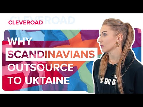 Why Scandinavians Outsource to Ukraine?