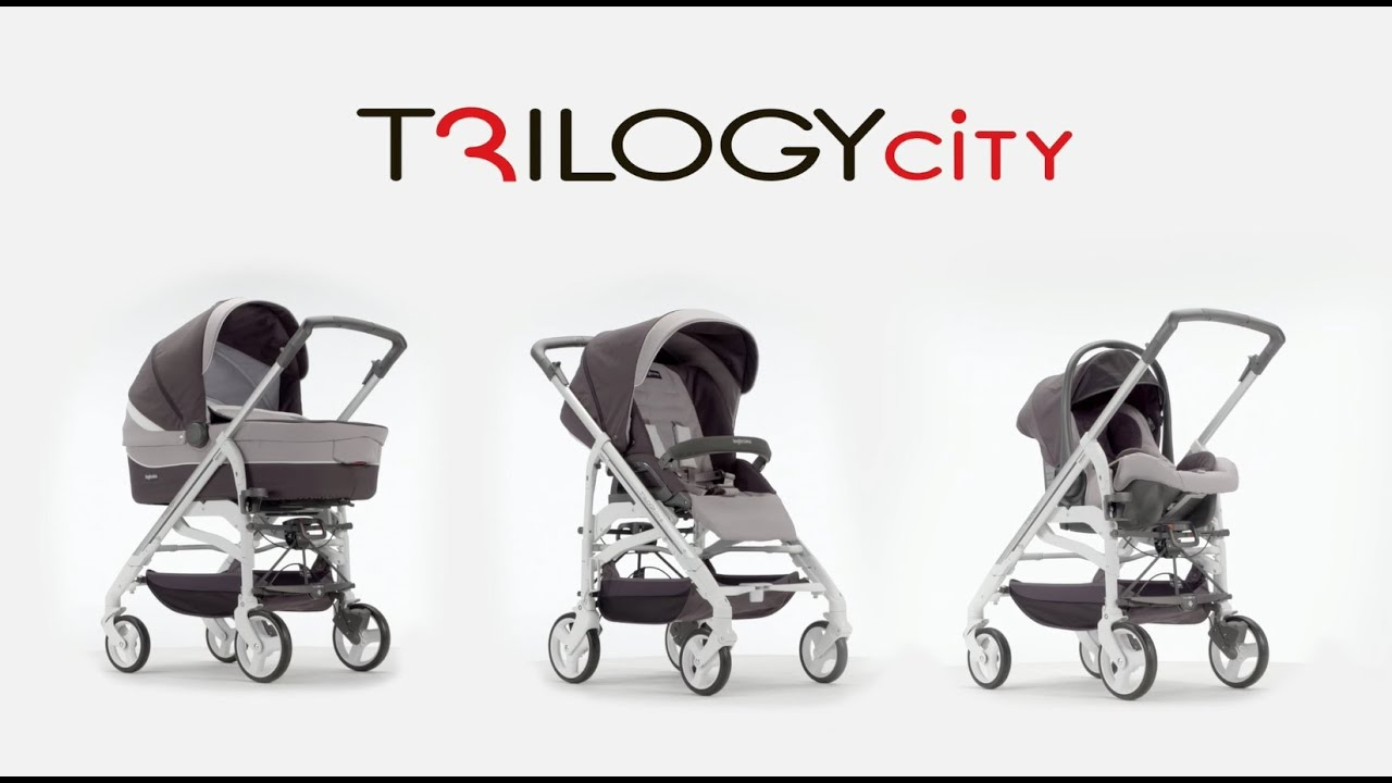 Sistema Trio Trilogy City Inglesina 2016 - Video Tutorial - YouTube