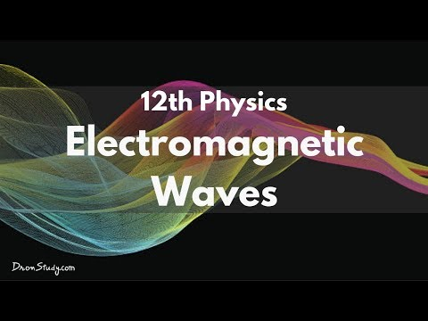 Electromagnetic Waves for IIT-JEE Physics | CBSE Class 12 XII | Video Lecture in Hindi