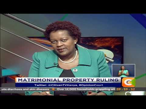 Opinion Court | Matrimonial Property Ruling #OpinionCourt
